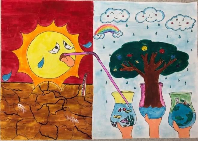 """厦门:""""六一儿童节·宝贝画天气""""绘画比赛"""